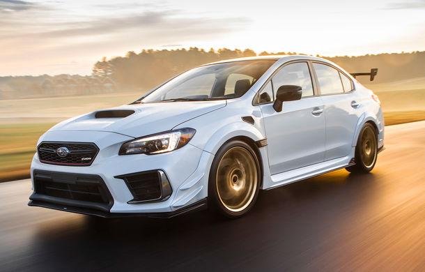 Cel mai puternic Subaru de serie a debutat la Detroit: STI S209 are 341 CP și va fi produs exclusiv pentru piața din SUA - Poza 1