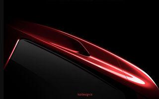 Italdesign prezintă primul teaser pentru un nou vehicul: lansarea va avea loc în 5 martie la Geneva