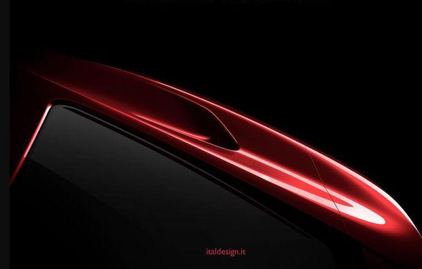 Italdesign prezintă primul teaser pentru un nou vehicul: lansarea va avea loc în 5 martie la Geneva - Poza 1