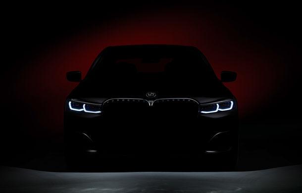 Teaser foto cu viitorul BMW Seria 7 facelift: limuzina constructorului german debutează în 16 ianuarie - Poza 1