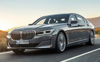 BMW Seria 7 facelift, imagini și detalii oficiale: design revizuit, asistent personal inteligent și motoare îmbunătățite