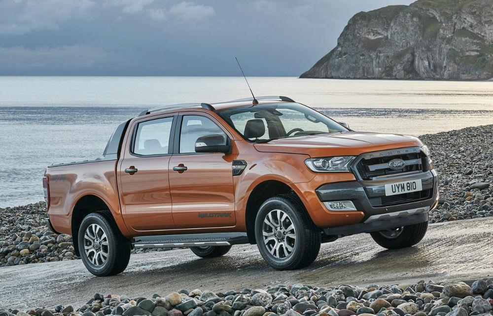 """Volkswagen și Ford au anunțat o colaborare în zona utilitarelor: Amarok și Ranger vor avea platformă comună, iar furgonetele se vor """"înrudi"""" tehnic - Poza 1"""
