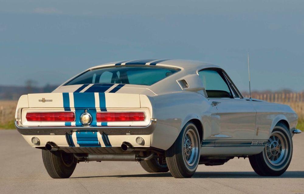 Cel mai scump Mustang din istorie este un Shelby GT500 Super Snake din 1967: exemplarul unicat a fost vândut la licitație pentru 2.2 milioane de dolari - Poza 3