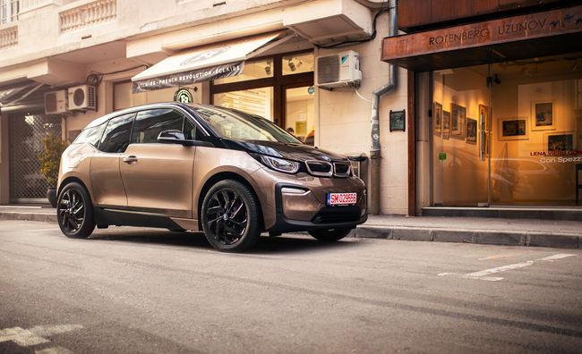 Test drive BMW i3 facelift