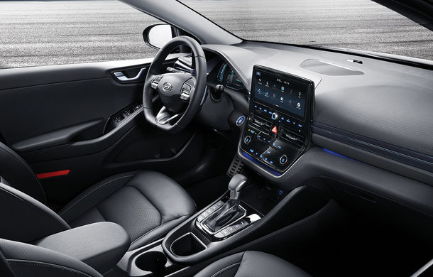 Hyundai Ioniq Hybrid și Plug-in Hybrid facelift: ecran de 10.25 inch și tehnologii preluate de la Kona Electric - Poza 3