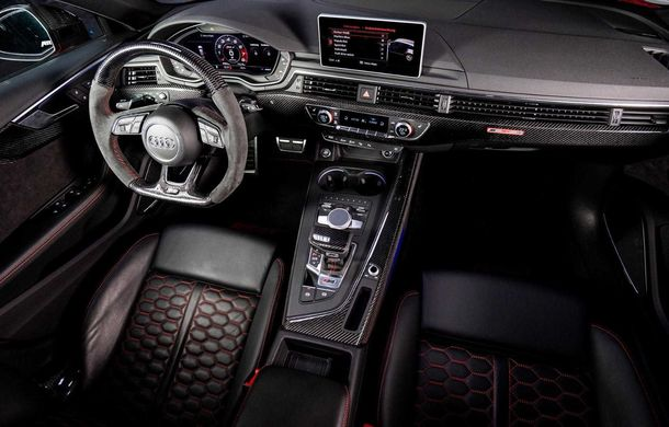 Audi RS4 Avant primește un pachet de performanță semnat de ABT: 530 CP și 680 Nm pentru break-ul german - Poza 11