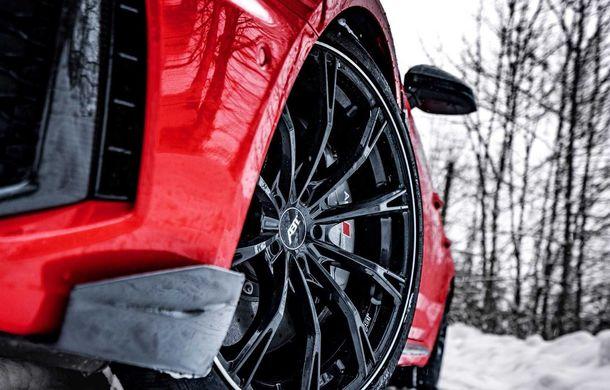 Audi RS4 Avant primește un pachet de performanță semnat de ABT: 530 CP și 680 Nm pentru break-ul german - Poza 10