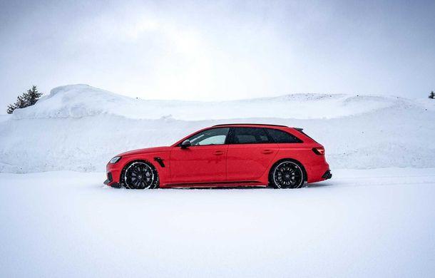 Audi RS4 Avant primește un pachet de performanță semnat de ABT: 530 CP și 680 Nm pentru break-ul german - Poza 5