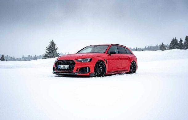 Audi RS4 Avant primește un pachet de performanță semnat de ABT: 530 CP și 680 Nm pentru break-ul german - Poza 6