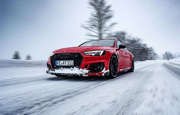 Audi RS4 Avant primește un pachet de performanță semnat de ABT: 530 CP și 680 Nm pentru break-ul german - Poza 1