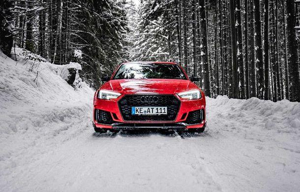 Audi RS4 Avant primește un pachet de performanță semnat de ABT: 530 CP și 680 Nm pentru break-ul german - Poza 2