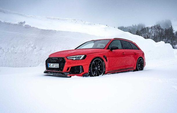 Audi RS4 Avant primește un pachet de performanță semnat de ABT: 530 CP și 680 Nm pentru break-ul german - Poza 4