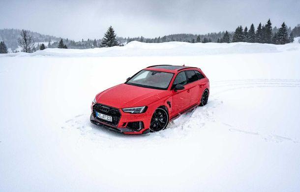 Audi RS4 Avant primește un pachet de performanță semnat de ABT: 530 CP și 680 Nm pentru break-ul german - Poza 7