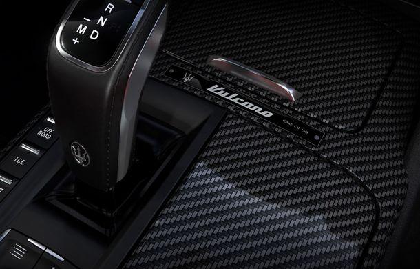 Maserati Levante Vulcano: SUV-ul italian a primit o ediție limitată cu 150 de exemplare pentru Europa și Asia - Poza 7
