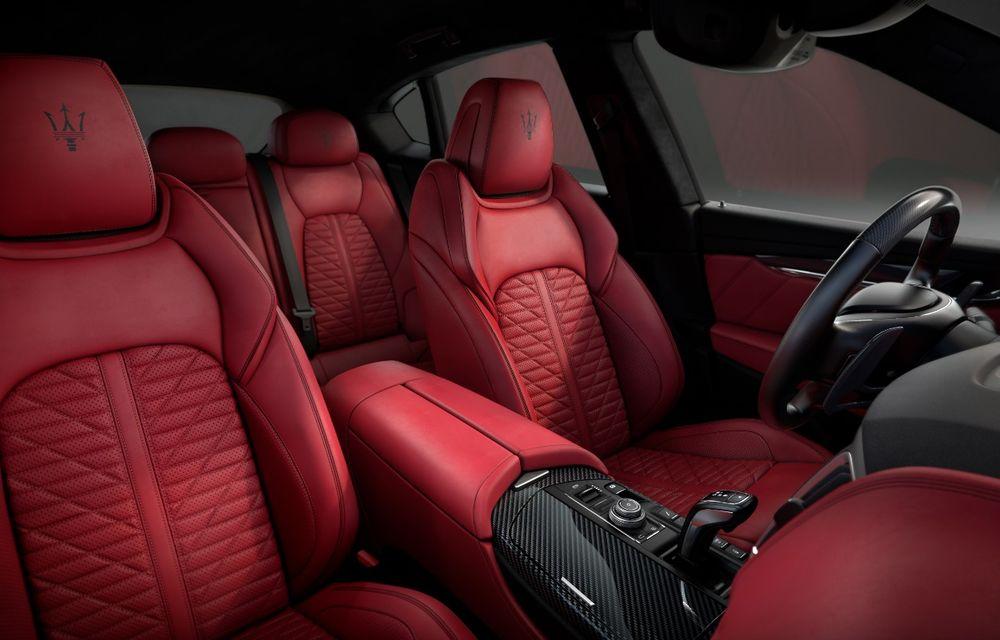 Maserati Levante Vulcano: SUV-ul italian a primit o ediție limitată cu 150 de exemplare pentru Europa și Asia - Poza 6