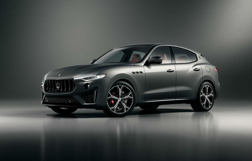 Maserati Levante Vulcano: SUV-ul italian a primit o ediție limitată cu 150 de exemplare pentru Europa și Asia - Poza 1