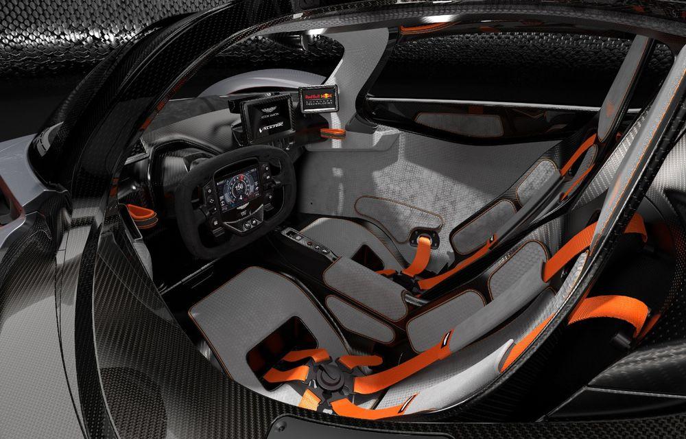 Aston Martin Valkyrie va primi o versiune AMR Track Performance: pachet aerodinamic nou, frâne din titan și suspensii pentru circuit - Poza 12