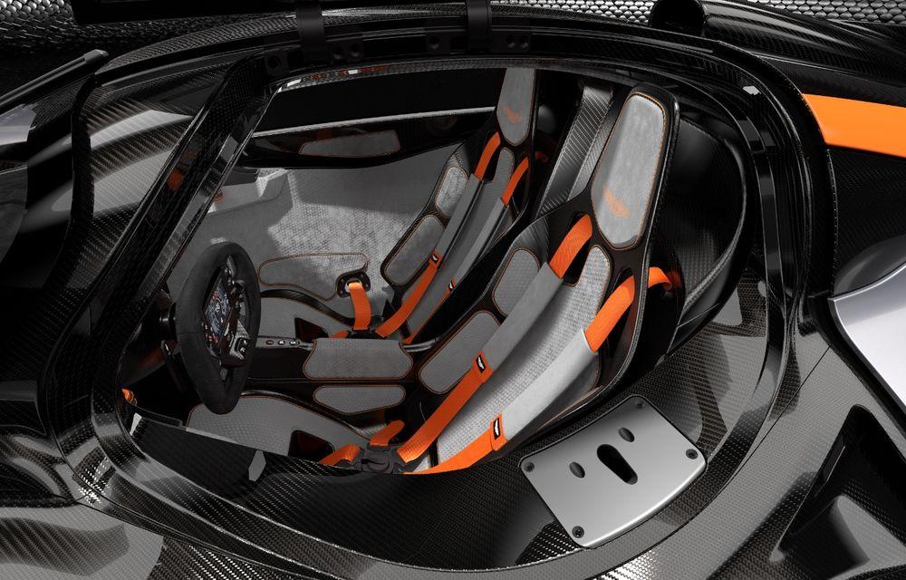 Aston Martin Valkyrie va primi o versiune AMR Track Performance: pachet aerodinamic nou, frâne din titan și suspensii pentru circuit - Poza 13