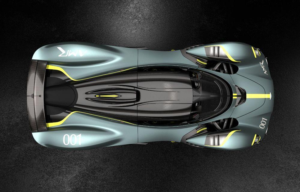 Aston Martin Valkyrie va primi o versiune AMR Track Performance: pachet aerodinamic nou, frâne din titan și suspensii pentru circuit - Poza 5