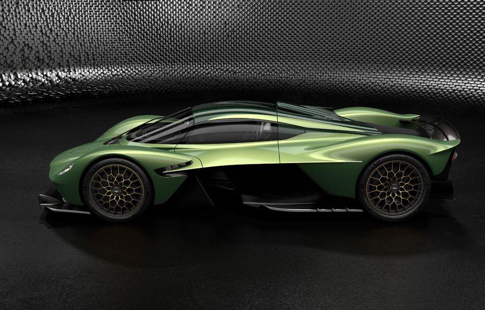 Aston Martin Valkyrie va primi o versiune AMR Track Performance: pachet aerodinamic nou, frâne din titan și suspensii pentru circuit - Poza 16