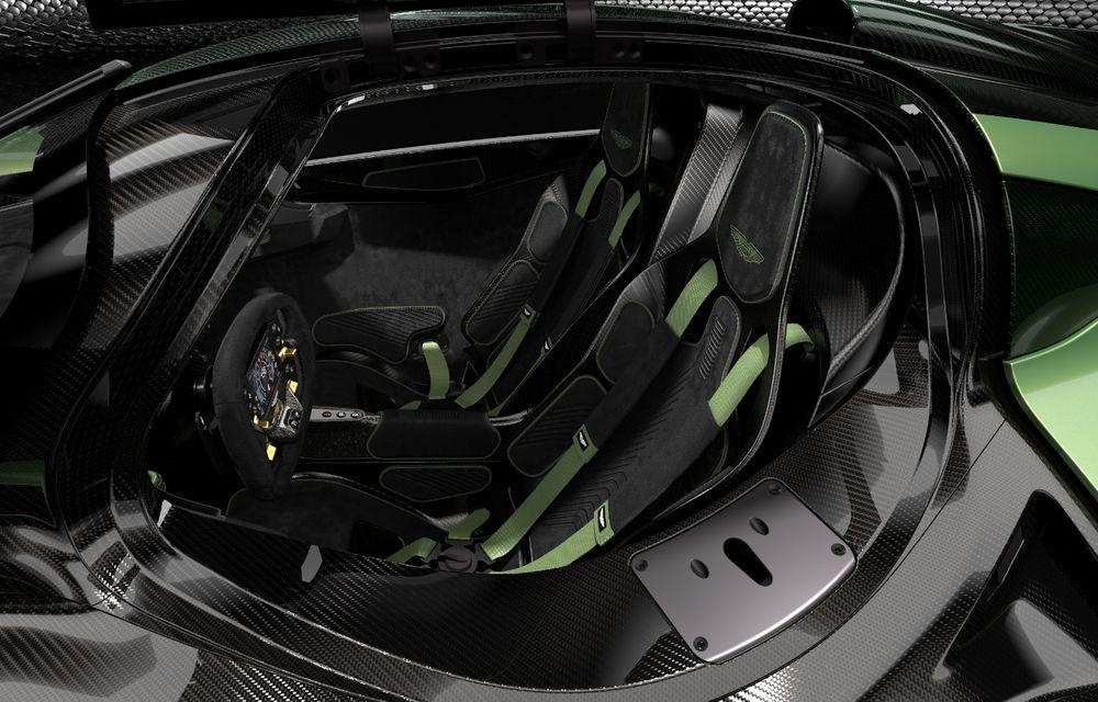 Aston Martin Valkyrie va primi o versiune AMR Track Performance: pachet aerodinamic nou, frâne din titan și suspensii pentru circuit - Poza 19