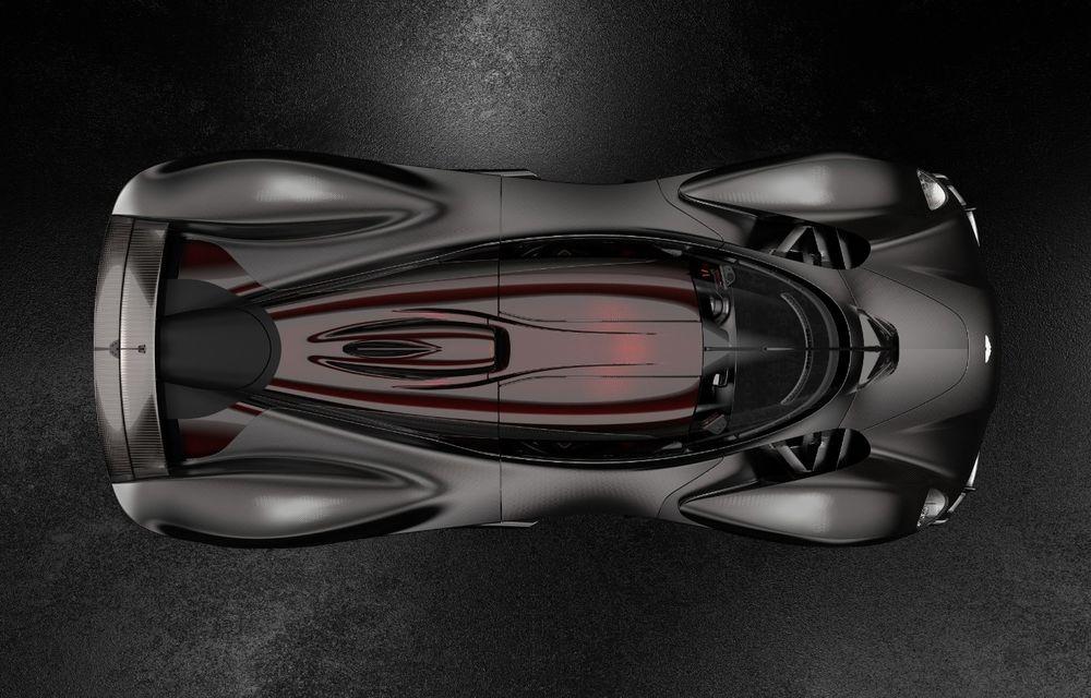 Aston Martin Valkyrie va primi o versiune AMR Track Performance: pachet aerodinamic nou, frâne din titan și suspensii pentru circuit - Poza 24