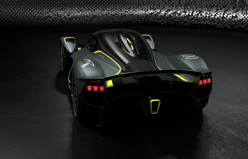 Aston Martin Valkyrie va primi o versiune AMR Track Performance: pachet aerodinamic nou, frâne din titan și suspensii pentru circuit - Poza 3