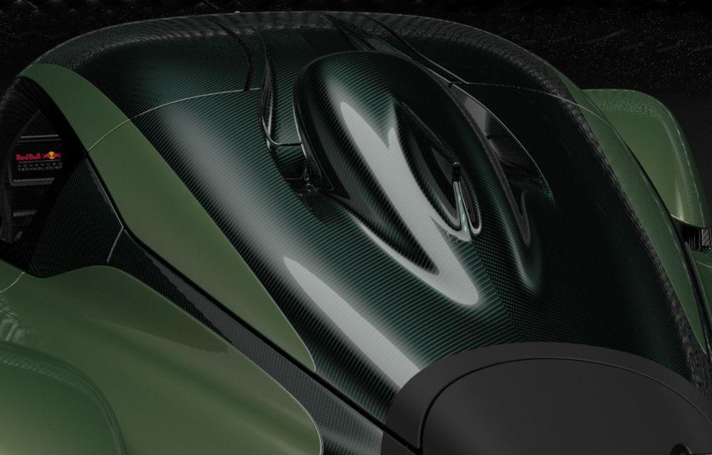 Aston Martin Valkyrie va primi o versiune AMR Track Performance: pachet aerodinamic nou, frâne din titan și suspensii pentru circuit - Poza 20