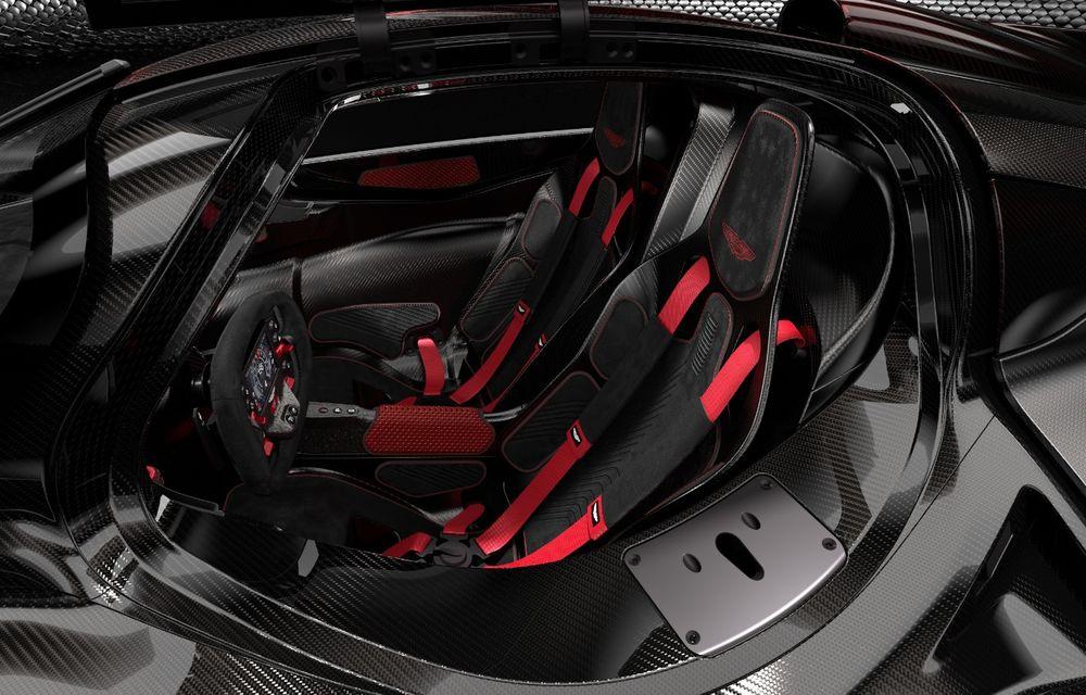 Aston Martin Valkyrie va primi o versiune AMR Track Performance: pachet aerodinamic nou, frâne din titan și suspensii pentru circuit - Poza 25