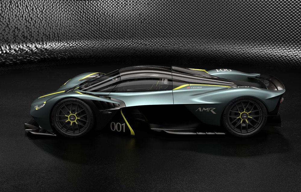 Aston Martin Valkyrie va primi o versiune AMR Track Performance: pachet aerodinamic nou, frâne din titan și suspensii pentru circuit - Poza 4