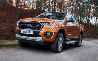 Noul Ford Ranger, imagini și detalii oficiale: noi motorizări diesel, transmisie automată cu 10 trepte și sisteme de asistență moderne