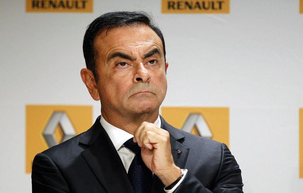 Ghosn acceptă să demisioneze din funcțiile deținute la Renault: francezii vor anunța joi noua conducere a constructorului - Poza 1
