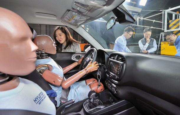 Hyundai pregătește o nouă soluție pentru siguranță: asiaticii dezvoltă un airbag pentru coliziuni secundare - Poza 1