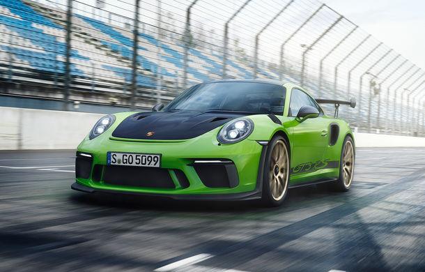 Primele detalii despre viitorul Porsche 911 GT3 RS: motor aspirat cu resurse mai generoase și un pachet aerodinamic nou - Poza 1