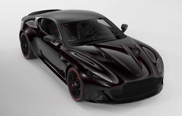 Aston Martin lansează ediția limitată DBS Superleggera TAG Heuer: 50 de exemplare echipate cu un pachet de caroserie cu elemente din fibră de carbon - Poza 1