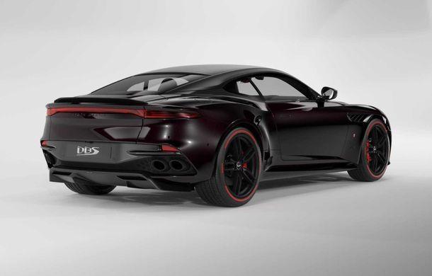 Aston Martin lansează ediția limitată DBS Superleggera TAG Heuer: 50 de exemplare echipate cu un pachet de caroserie cu elemente din fibră de carbon - Poza 2