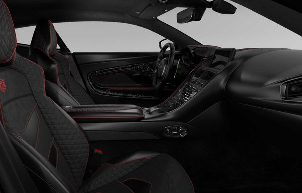 Aston Martin lansează ediția limitată DBS Superleggera TAG Heuer: 50 de exemplare echipate cu un pachet de caroserie cu elemente din fibră de carbon - Poza 4