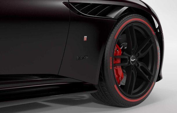 Aston Martin lansează ediția limitată DBS Superleggera TAG Heuer: 50 de exemplare echipate cu un pachet de caroserie cu elemente din fibră de carbon - Poza 3
