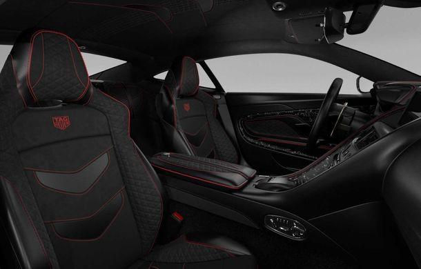 Aston Martin lansează ediția limitată DBS Superleggera TAG Heuer: 50 de exemplare echipate cu un pachet de caroserie cu elemente din fibră de carbon - Poza 5
