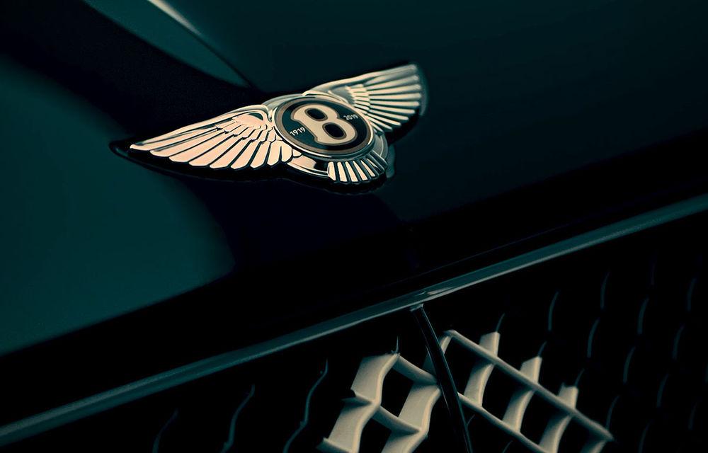 Sărbătoare în cadrul Bentley: britanicii aduc la Geneva un model special cu ocazia centenarului mărcii - Poza 1