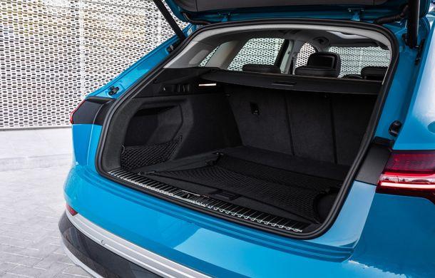 Prim contact cu Audi e-tron: 30 de minute în compania primului SUV electric din portofoliul nemților - Poza 10