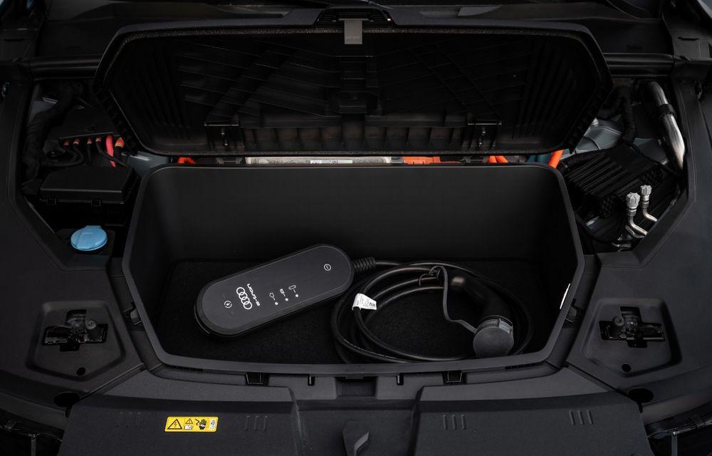 Prim contact cu Audi e-tron: 30 de minute în compania primului SUV electric din portofoliul nemților - Poza 17