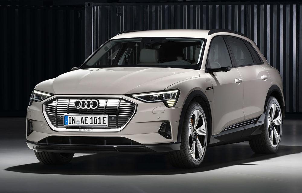 Prim contact cu Audi e-tron: 30 de minute în compania primului SUV electric din portofoliul nemților - Poza 4