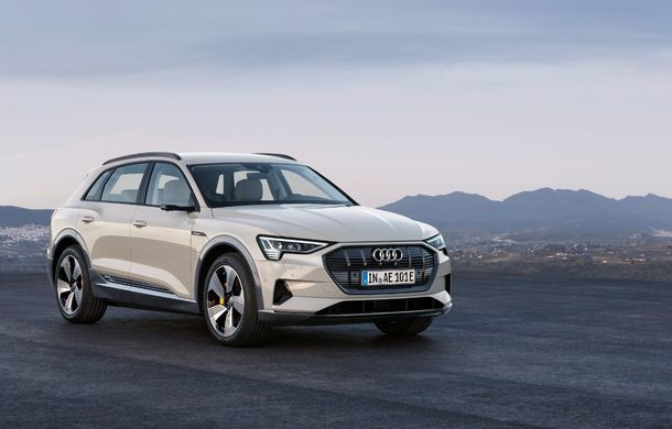 Prim contact cu Audi e-tron: 30 de minute în compania primului SUV electric din portofoliul nemților - Poza 6