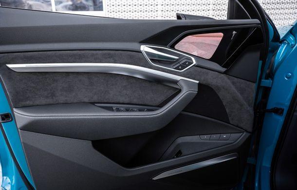 Prim contact cu Audi e-tron: 30 de minute în compania primului SUV electric din portofoliul nemților - Poza 18