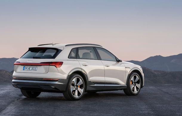 Prim contact cu Audi e-tron: 30 de minute în compania primului SUV electric din portofoliul nemților - Poza 7
