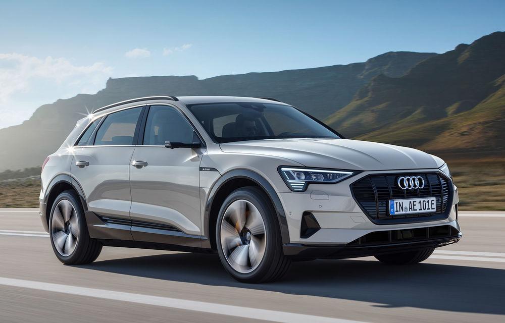 Prim contact cu Audi e-tron: 30 de minute în compania primului SUV electric din portofoliul nemților - Poza 3