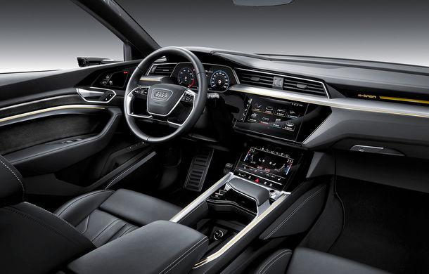 Prim contact cu Audi e-tron: 30 de minute în compania primului SUV electric din portofoliul nemților - Poza 12