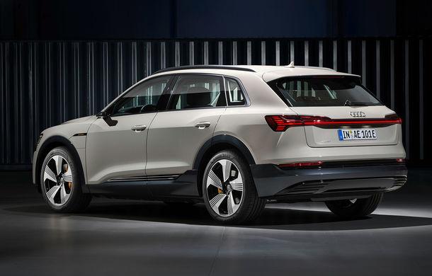 Prim contact cu Audi e-tron: 30 de minute în compania primului SUV electric din portofoliul nemților - Poza 8