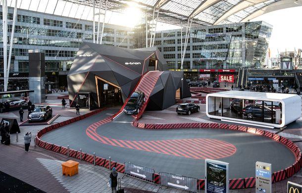 Prim contact cu Audi e-tron: 30 de minute în compania primului SUV electric din portofoliul nemților - Poza 2
